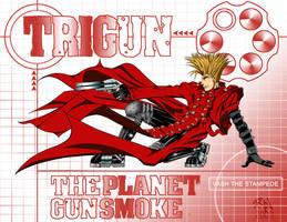 Vash The Stampede by castortroy3497