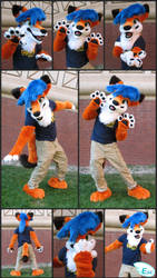 Gearbox the Coyote Partial Fursuit (2016) by Eternalskyy