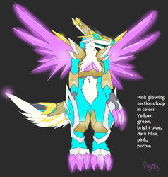 Esc Mecha Anthro Form - Cyrize Species by Eternalskyy