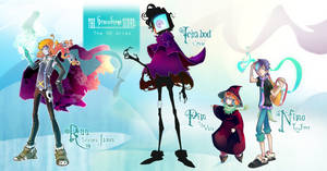 Gravestone Characters by Channel-Square