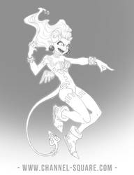 Demona Sketch by Channel-Square
