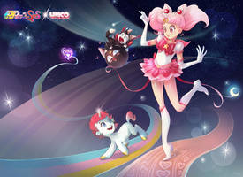 ChibiUsa, Unico and Friends by Channel-Square