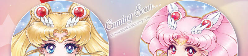Sailor Moon Button Set Teaser by Channel-Square