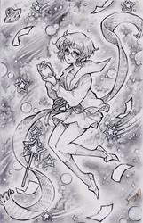 Nagato Yuki Sketch Commission by Channel-Square
