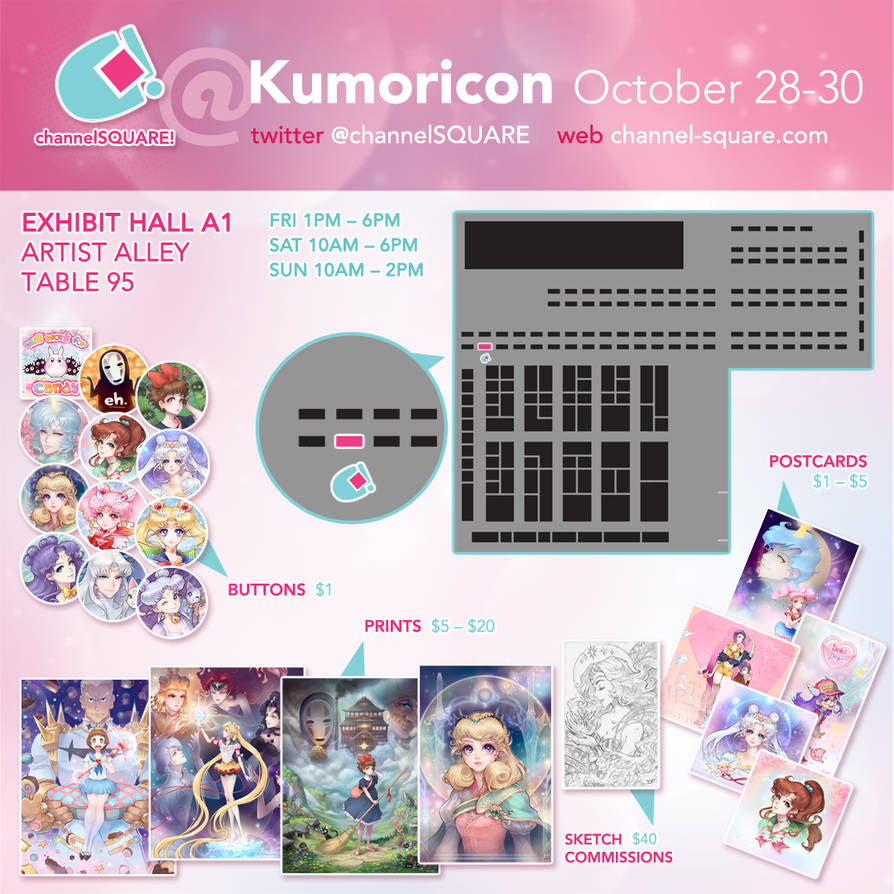 Kumoricon!!! by Channel-Square