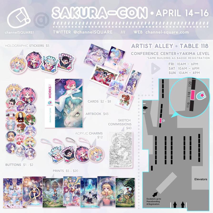 Sakura-Con 2017 AA  by Channel-Square