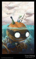 Gone Fishing by Channel-Square
