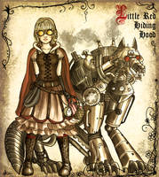 Steampunk Fairytale by AkaiSoul