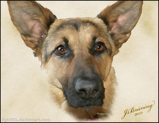 Asta Portrait by Lighti85