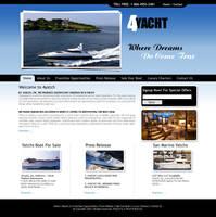 Yatch Website by bluemp