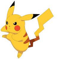 Pikachu Practice III by Amandanny