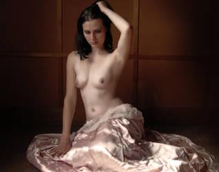 Pink Gown by ModelHeatherK