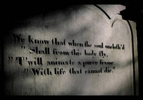 Cemetery Words by Purplejackdaw