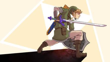 TNS: Link (Skyward Sword) by ElizabethBeals