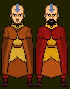 Aang and Tenzin by Wallz2296