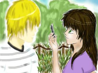 Takeshi and Maya by nANamI-saAn