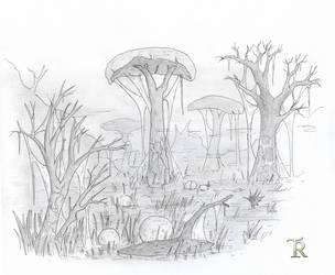 Ash Swamp by Tamriel-Rebuilt