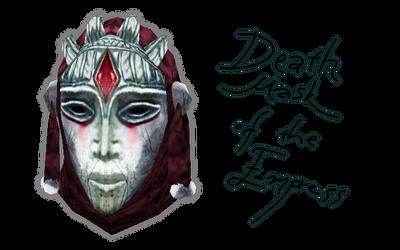 The Death Mask of Empress Katariah by Tamriel-Rebuilt