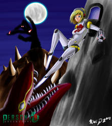 Aigis' Evasive Action by Kiwi-Punch