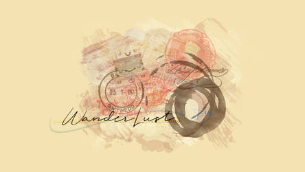 Wanderlust Personal Wallpaper by jannezq