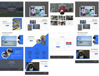 Phodemy UI Design by jannezq