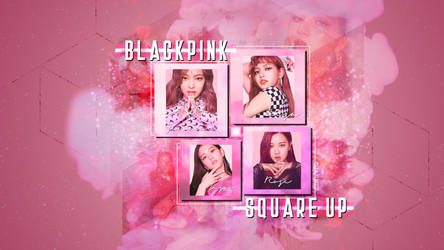 Blackpink Square Up Inspired Wallpaper by jannezq