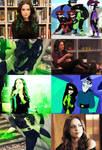 Live Action Kim Possible Shego by Piggie50