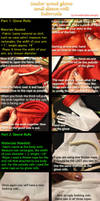 Sailor Scout Glove and Sleeve Roll Tutorial by breathelifeindeeply