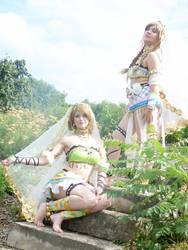 Love Live Arabian Cosplay by breathelifeindeeply