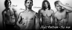 Night Huntress - the men by bluehybun