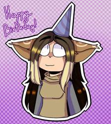 Happy Birthday MiLinn! by JeyTheWerefox