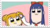 Popuko and Pipimi Stamp by AokiLeaf