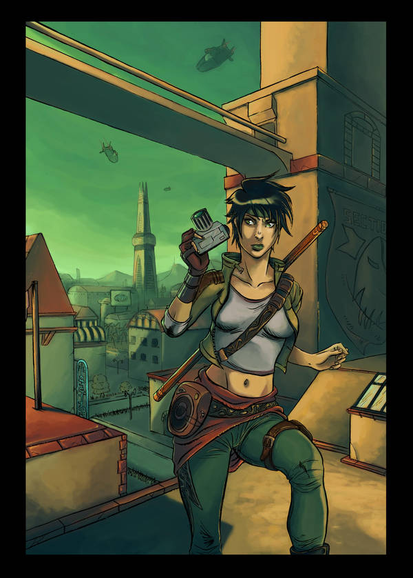 Fan Art Beyond Good And Evil By Dumbo972 On Deviantart