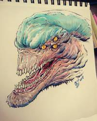 Alien A by dumbo972