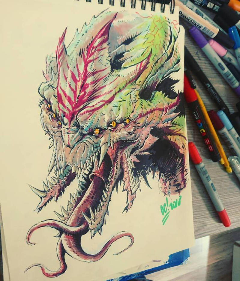 Apex Alien by dumbo972