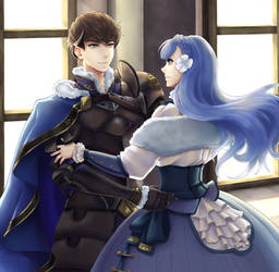 The King and his Queen (Fire Emblem: SoV) by Caithlyn