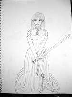 Elven Bridely Fighting Chicky by King-Arturia-Emiya