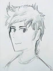 Kazuo Sketch by F1r3w0rks