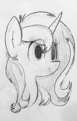 Sparkle's Face Sketch by F1r3w0rks