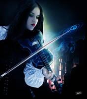 Violin by DIABLOTINA