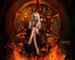 Te espero en el infierno... by DIABLOTINA