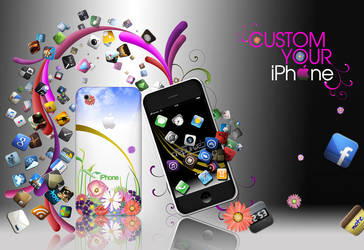 Custom Your iPhone by lilianbourgevin
