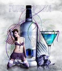Pure Vodka by lilianbourgevin