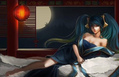 League of Legends - sona by long5009
