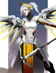 Overwatch Mercy by long5009