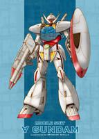 Turn A Gundam by Bogata
