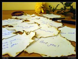 i love you by ustinescu