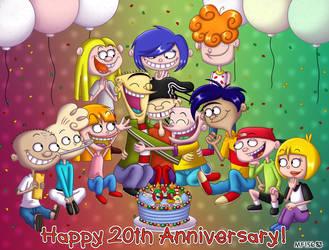 Ed, Edd n Eddy 20th Anniversary by MangaFox156