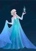 Queen Elsa by Arrietart