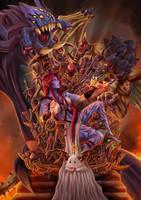 Shyvana Targaryen by Arrietart